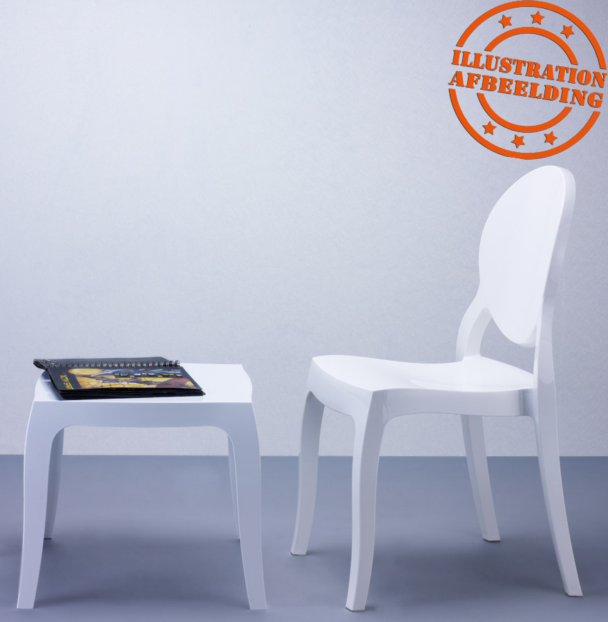 Chaise design eliza blanche chaise moderne - Chaise elizabeth blanche ...