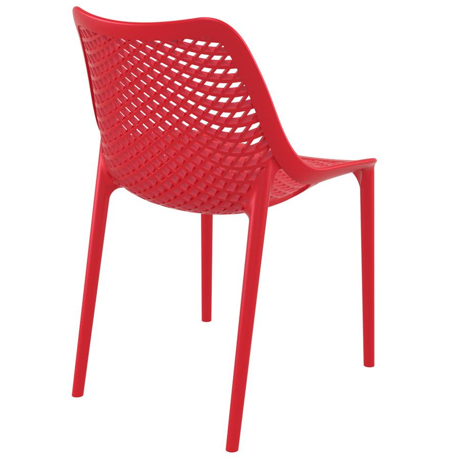 Moderne rode stoel 39 blow 39 uit kunststof - Moderne stoel ...