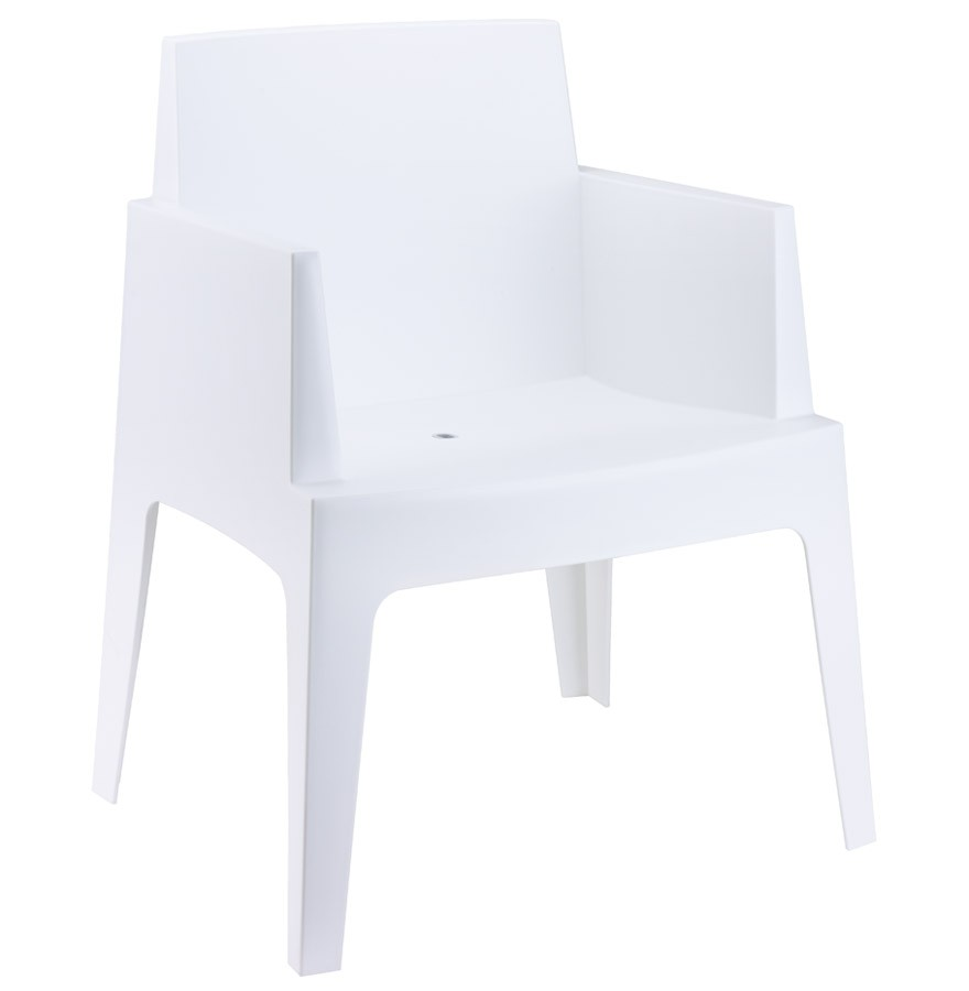 chaise design plemo blanche chaise moderne. Black Bedroom Furniture Sets. Home Design Ideas