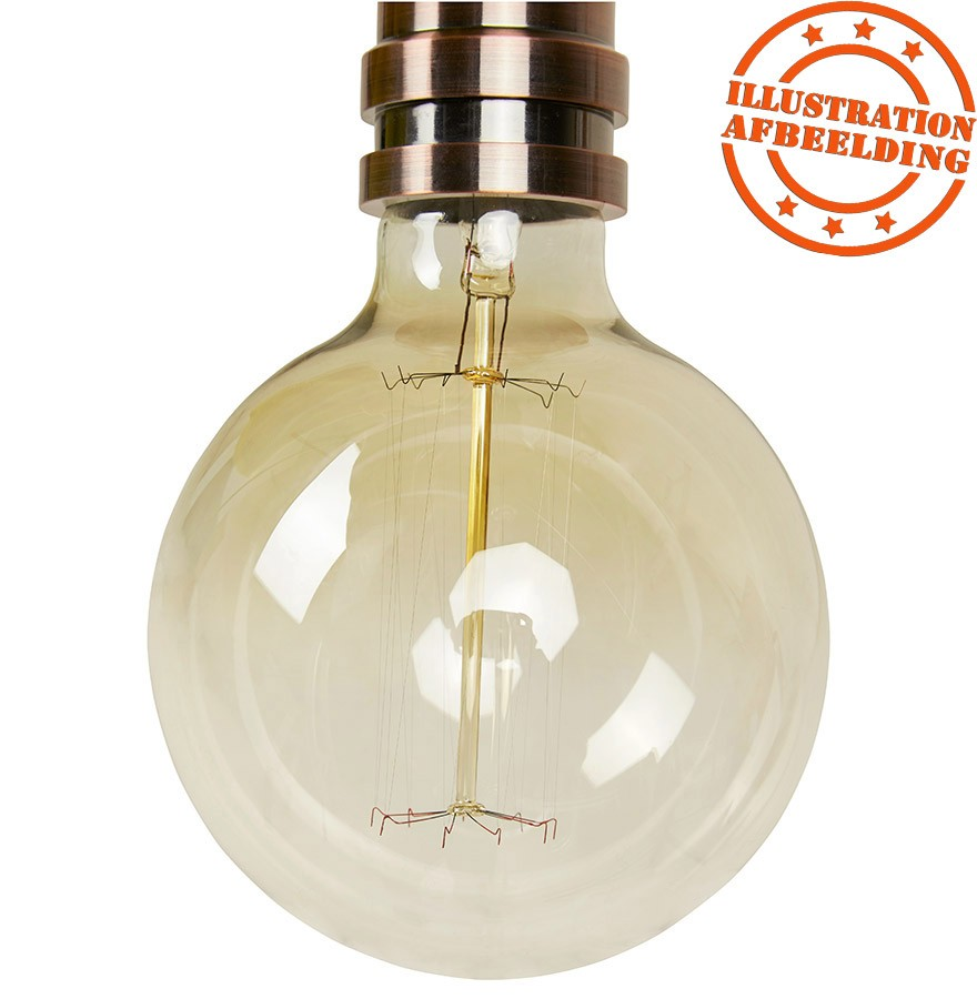Suspension ampoule vintage BUBUL BIG à filament