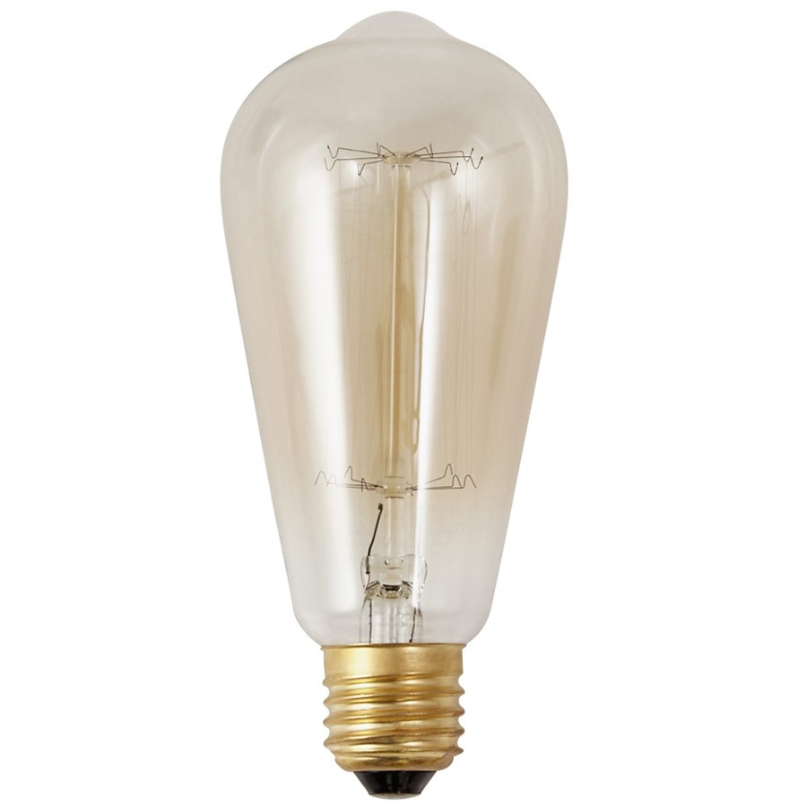 Suspension ampoule vintage bubul long filament - Suspension ampoule filament ...