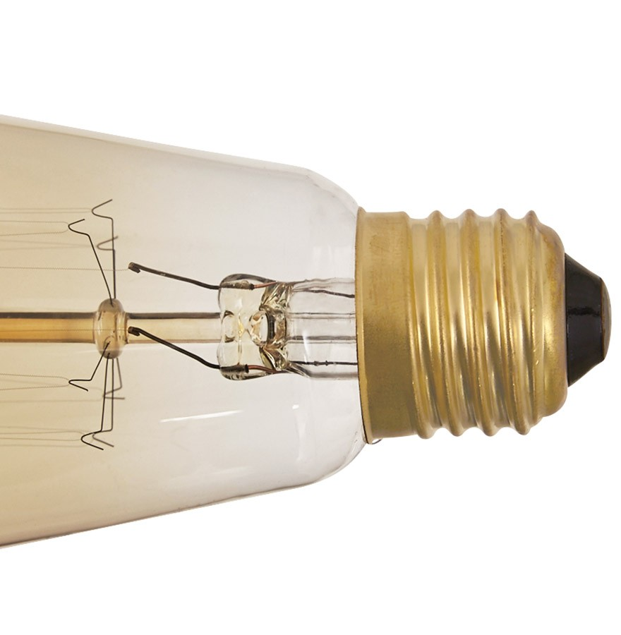 suspension ampoule vintage bubul long filament. Black Bedroom Furniture Sets. Home Design Ideas