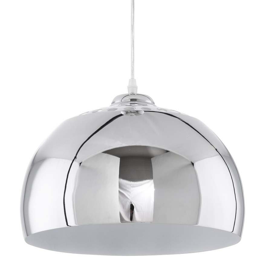 Suspension boule pikto design en m tal lustre design - Lampe suspendue design ...