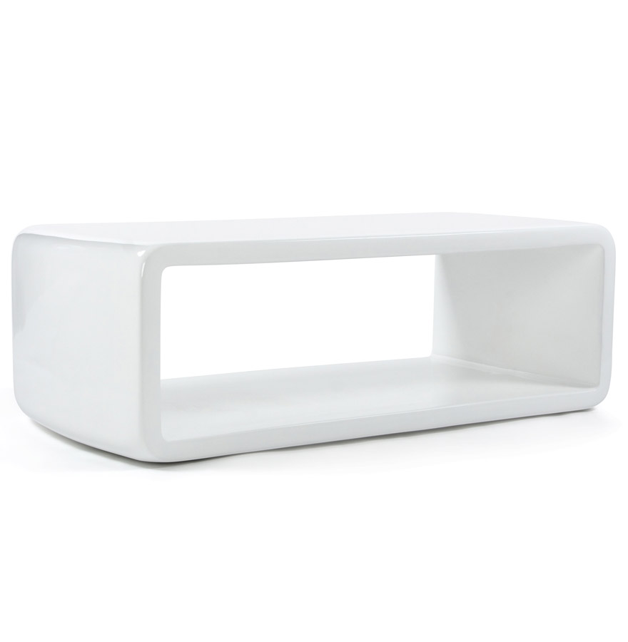 Dima white newsite 01 - Petite table basse salon ...