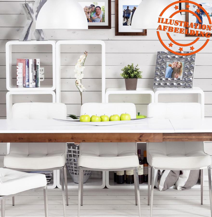 cube de rangement kubic blanc empilable meuble de rangement. Black Bedroom Furniture Sets. Home Design Ideas