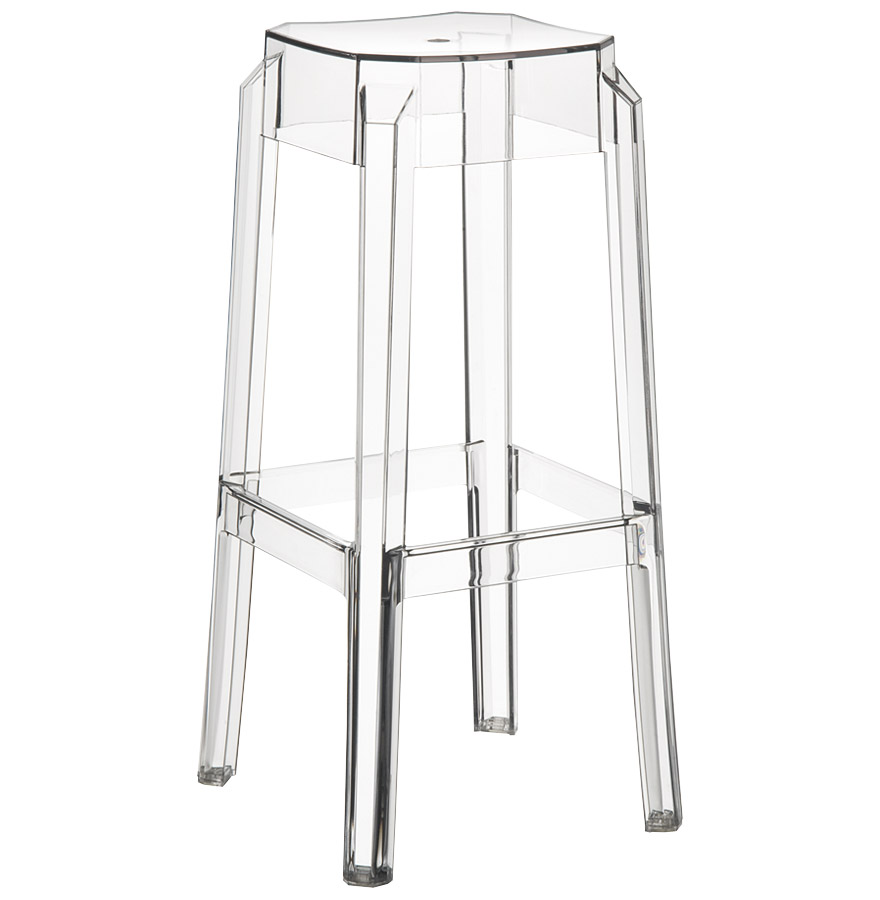 tabouret de bar leno transparent tabouret design. Black Bedroom Furniture Sets. Home Design Ideas