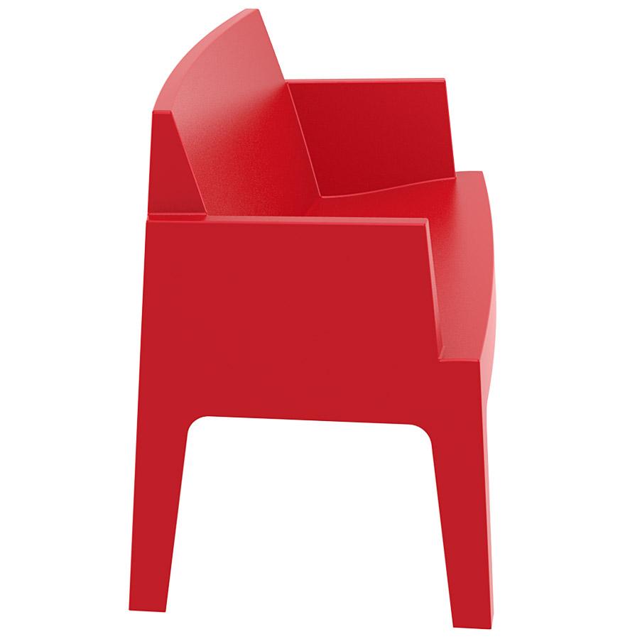 Banc de jardin 39 plemo xl 39 rouge ebay - Banc de jardin rouge ...