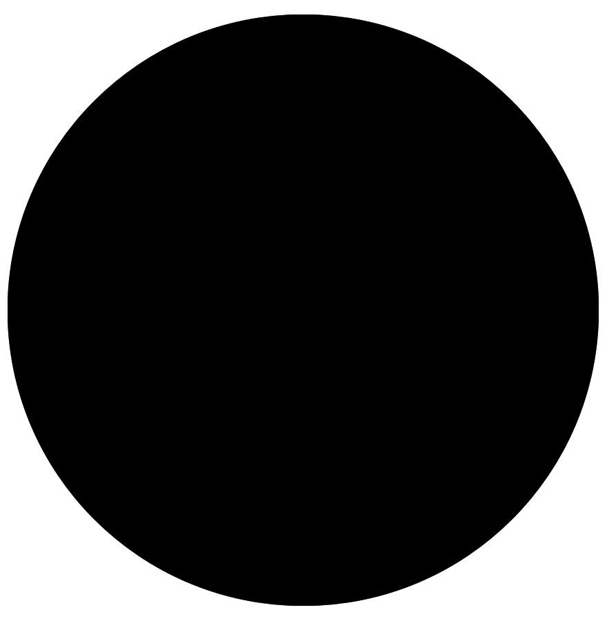 Plateau De Table RINGO Rond 70cm Noir