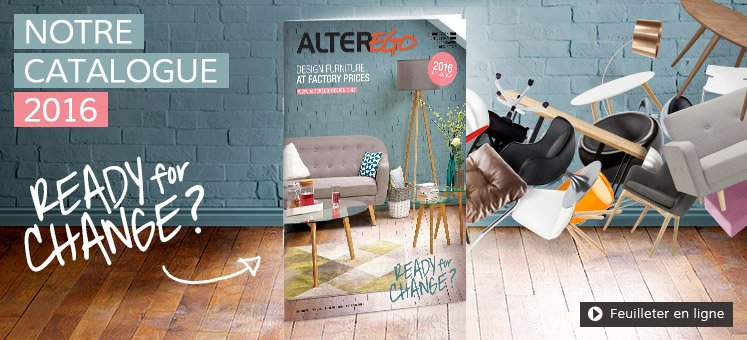 Catalogue 2016 du mobilier Alterego Design