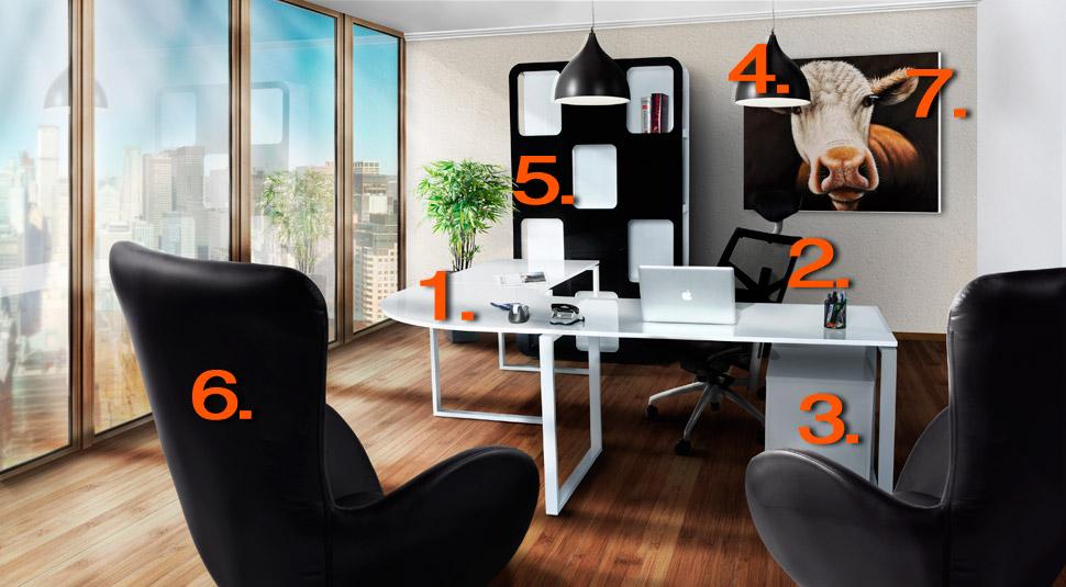 espace de travail bureau alterego design. Black Bedroom Furniture Sets. Home Design Ideas