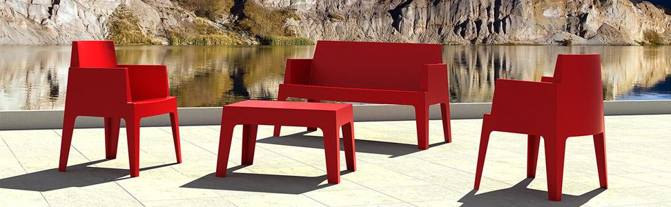 meubles jardin design belgique